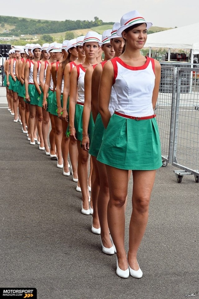 Hungary F1 Grid Girls