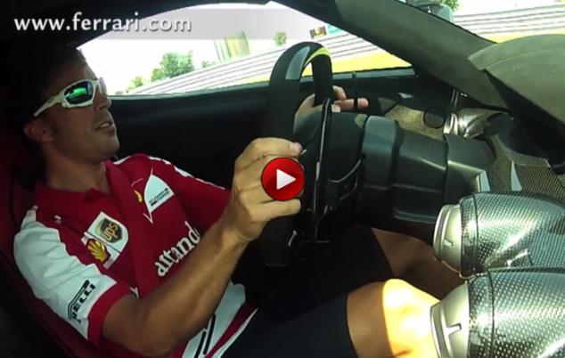 Alonso La Ferrari