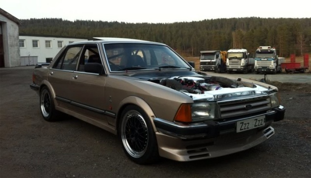 Ford Granada Sleeper ZZZ ZZZ