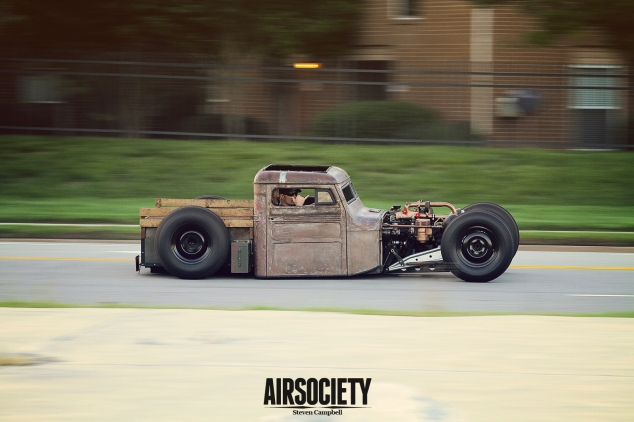 Joshua Joyce's 1947 Jeep Willys TDI Rat Rod