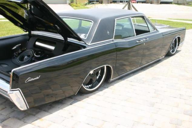 Stanced Lincoln Continental