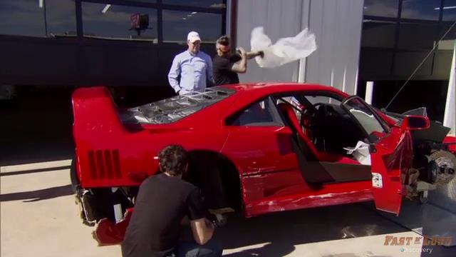 Gas Monkey Garage Save A Ferrari F40 | Gargling Gas