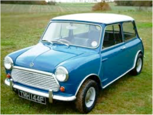The Mk II Morris Mini Cooper