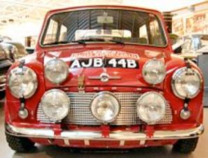 1965 Monte Carlo Winner, 1964 Cooper S