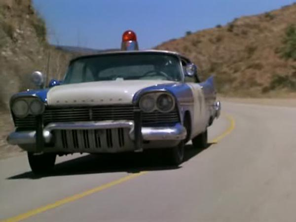 Plymouth Fury Cop Car