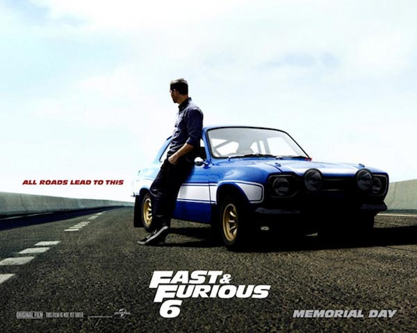 Paul Walker Ford Escort Fast N Furious