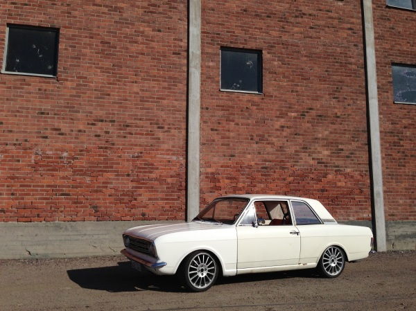 306-whp Ford Cortina With A Mondeo ST220 Engine