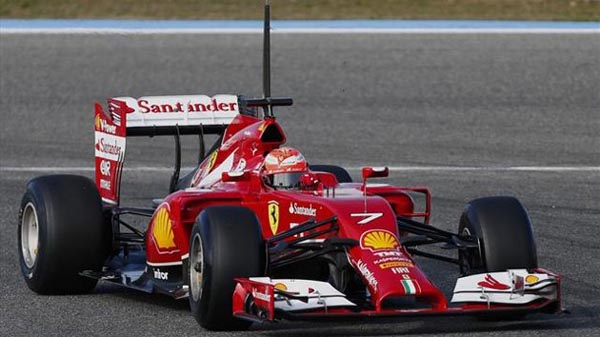 2014 Ferrari Bad Nose Job