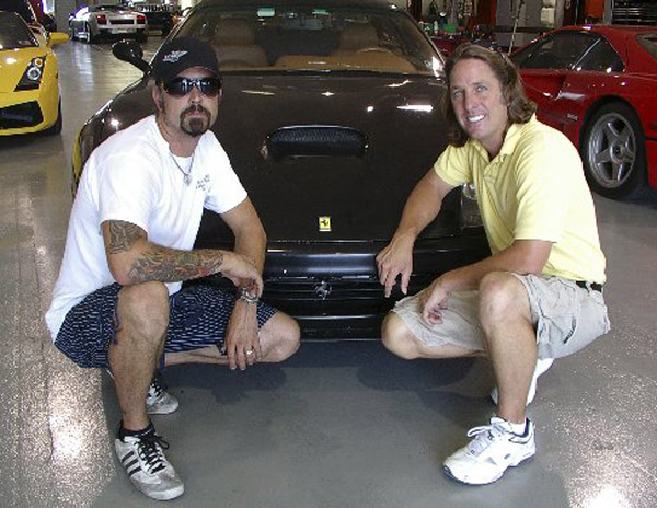 Richard Rawlings, Dennis Collins & the Record Ferrari F550