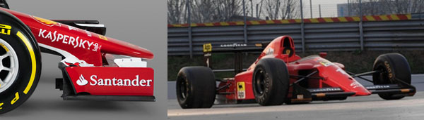 Ferrari SF-15T vs Ferrari 640/1