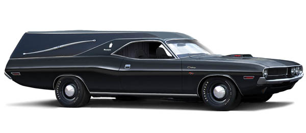 1970 Dodge Challenger Hearse