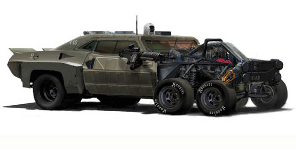 Mad Max Vehicle - Aaron Beck
