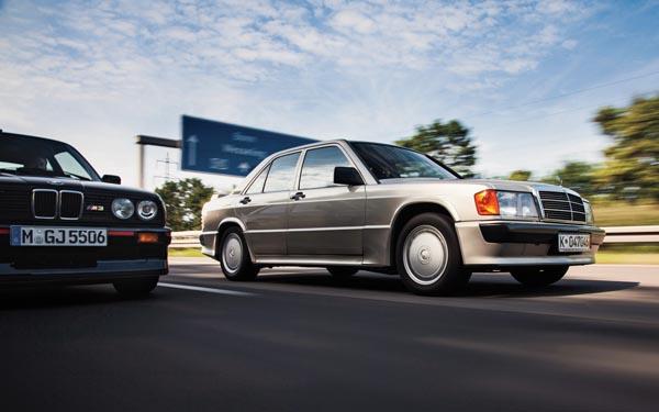Mercedes 190E Cosworth vs BMW E30 M3