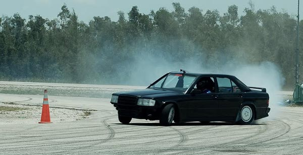 Mercedes 190E Cosworth Drift Car
