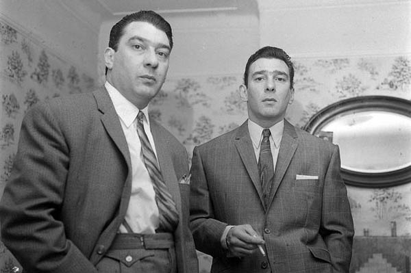 Kray Twins Ronald and Reginald