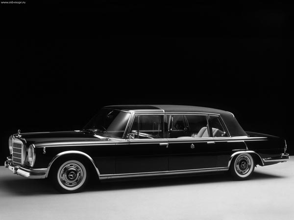 The Mercedes-Benz 600