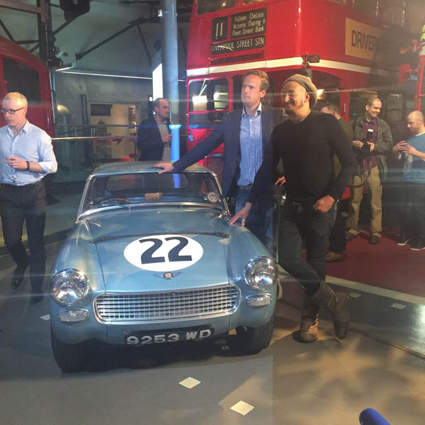 Car SOS - Sir Stirling Moss' 1962 Sebring Sprite