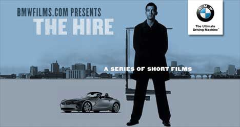 BMW 'The Hire'